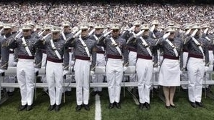 Cadets from the the United States Milita