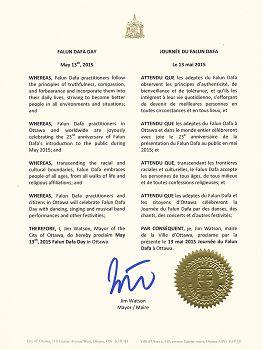2015-5-6-minghui-ottawa-proclamation